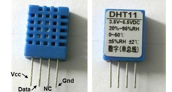 Gestion temperature hygrometrie afficheur lcd for Afficheur numerique exterieur